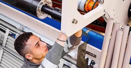 tissue converting machine maintenance